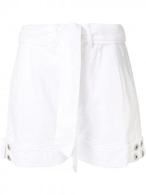 Джинсовые шорты Taylor Jonathan Simkhai. Цвет: белый
