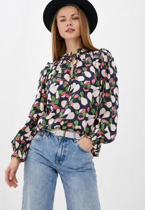 Блуза Compania Fantastica. Цвет: разноцветный