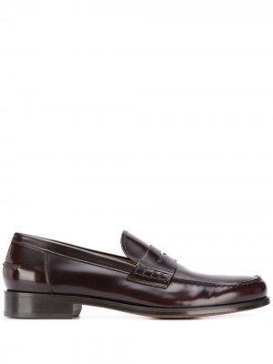 Doucals лоферы на низком каблуке Doucal's. Цвет: коричневый