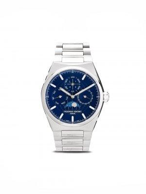 Наручные часы Highlife Perpetual Calendar 41 мм Frédérique Constant. Цвет: синий