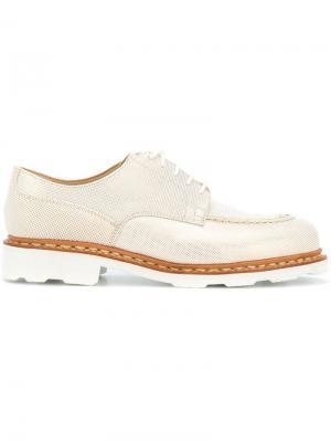 X Anne Thomas ботинки-дерби с округлым носом Paraboot. Цвет: нейтральные цвета