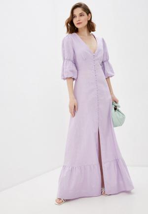 Платье Glamorous. Цвет: фиолетовый