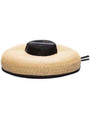 Соломенная шляпа Matelot ELIURPI. Цвет: нейтральные цвета