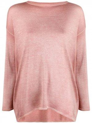 Джемпер с длинными рукавами Avant Toi. Цвет: розовый