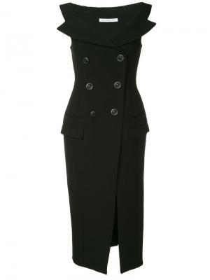 Платье-пальто CAMILLA AND MARC. Цвет: черный
