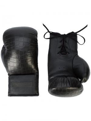 Боксерские перчатки Elisabeth Weinstock. Цвет: черный