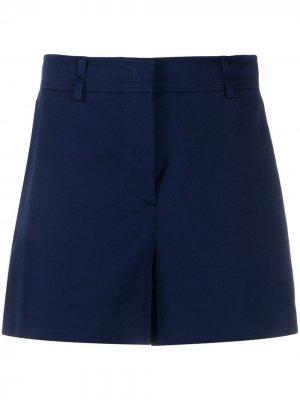 Короткие шорты с завышенной талией Emilio Pucci. Цвет: синий