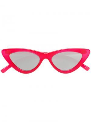 Солнцезащитные очки  Last Lolita Le Specs. Цвет: красный