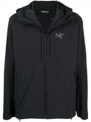 Arcteryx легкая куртка с капюшоном Arc'teryx. Цвет: черный
