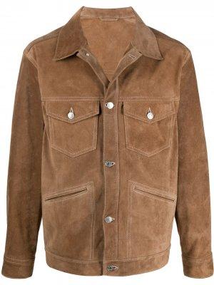 Короткая куртка на пуговицах Isabel Marant. Цвет: коричневый