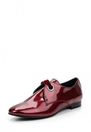 Ботинки Andre. Цвет: бордовый