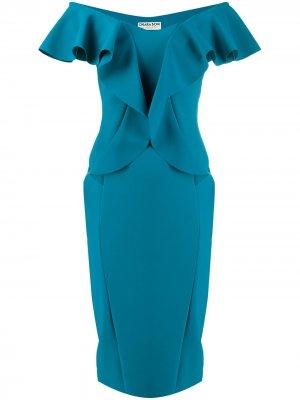 Платье Sido Le Petite Robe Di Chiara Boni. Цвет: синий