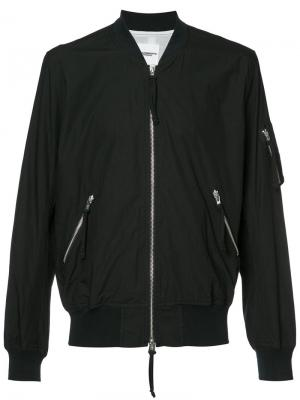 Куртка бомбер Takahiromiyashita The Soloist. Цвет: черный