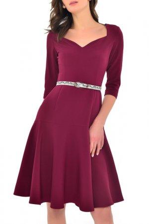 Платье MONDIGO. Цвет: темная вишня