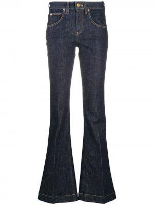 LAutre Chose расклешенные джинсы средней посадки L'Autre. Цвет: синий