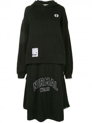 Платье Normal Wear Ground Zero. Цвет: черный