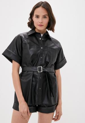 Рубашка Karl Lagerfeld. Цвет: черный