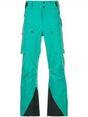Лыжные брюки Hayden 3L Aztech Mountain. Цвет: зеленый