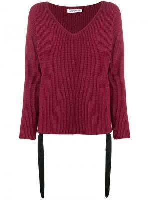 Базовый кашемировый свитер Altuzarra. Цвет: розовый