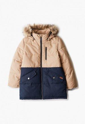 Куртка утепленная Name It. Цвет: бежевый