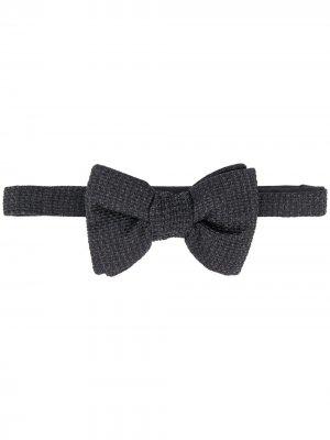 Фактурный галстук-бабочка Tom Ford. Цвет: черный