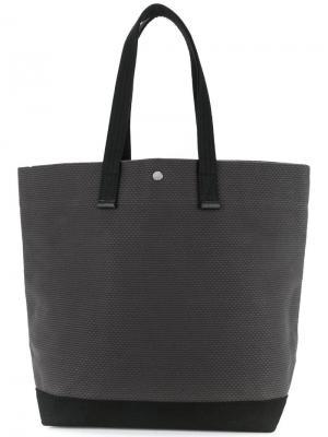 Большая сумка-шоппер Cabas. Цвет: серый