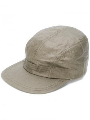 Классическая кепка Engineered Garments. Цвет: зеленый