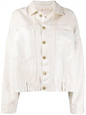 Джинсовая куртка De-Jala Diesel. Цвет: нейтральные цвета