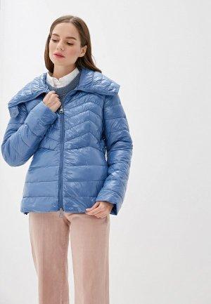 Куртка утепленная Rinascimento. Цвет: голубой