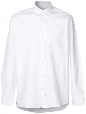Рубашка на пуговицах Soulland. Цвет: белый
