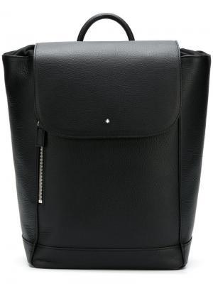 Средний рюкзак на шнурке Montblanc. Цвет: черный