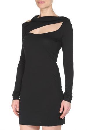 Платье CNC Costume National C'N'C. Цвет: черный