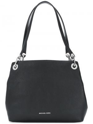 Большая сумка на плечо Raven Michael Kors. Цвет: черный