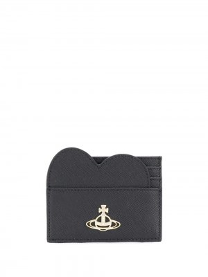 Картхолдер с логотипом Vivienne Westwood. Цвет: черный