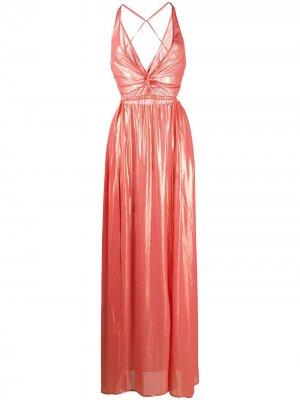 Вечернее платье Penelope Antonella Rizza. Цвет: оранжевый