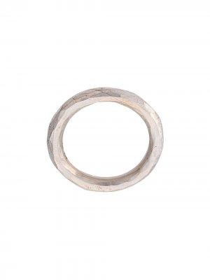 Граненое кольцо Werkstatt:München. Цвет: серебристый