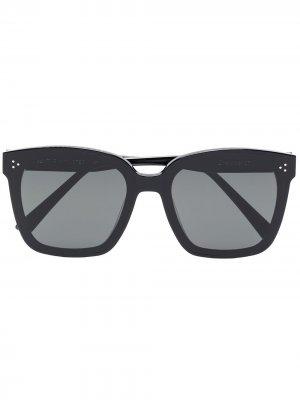 Солнцезащитные очки Dreamer в массивной оправе Gentle Monster. Цвет: черный