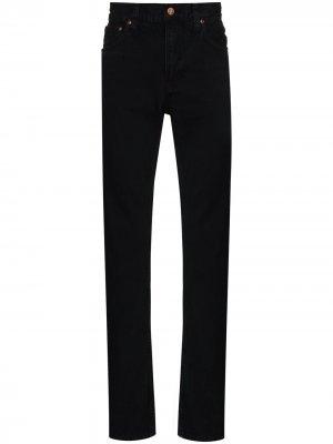 Джинсы Gritty Jackson прямого кроя Nudie Jeans. Цвет: черный