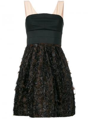 Коктейльное платье Dorothee Schumacher. Цвет: черный