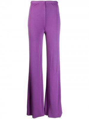 Расклешенные брюки 1970-х годов A.N.G.E.L.O. Vintage Cult. Цвет: фиолетовый