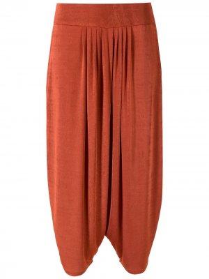 Укороченные брюки Lucila Alcaçuz. Цвет: оранжевый