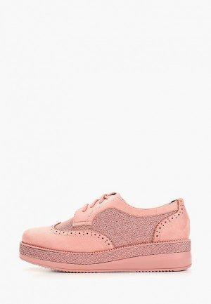 Ботинки Vivian Royal. Цвет: розовый