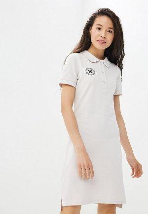 Платье Sitlly. Цвет: белый