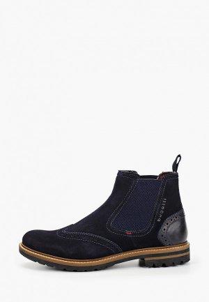 Ботинки Bugatti. Цвет: синий