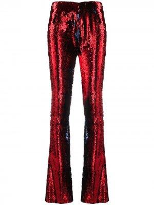MarquesAlmeida расклешенные брюки с пайетками Marques'Almeida. Цвет: красный