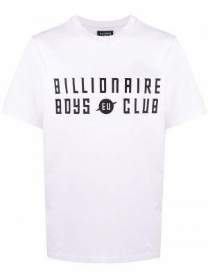 Футболка с логотипом Billionaire Boys Club. Цвет: белый