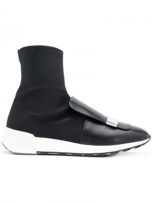 Sr1 sneaker boots Sergio Rossi. Цвет: черный