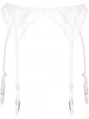 Кружевная подвязка Gardenia Fleur Du Mal. Цвет: белый