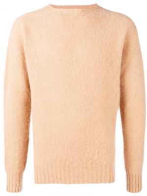 Crewneck sweater Howlin'. Цвет: нейтральные цвета