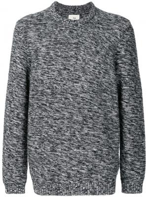 Irregular stripe sweater Folk. Цвет: синий